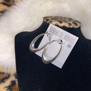 Robert lee Morris soho silver detailed earrings